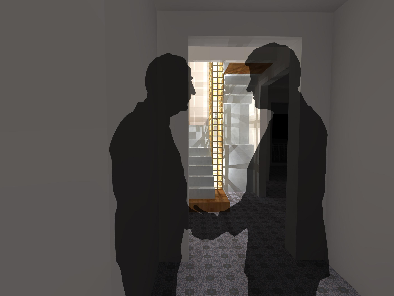 Montage escalier A1