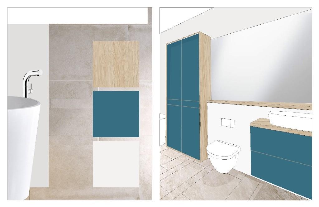 Arkendai, Stanislas, Architecture d'intérieur, aménagement, couleur, matière, rendu, étude, salle de bain, salle d'eau, design, luxe, contemporain, pureté